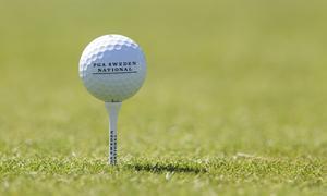 En del golfrundor satsar Jeremy Boyce på i sommar.