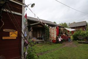 Ett av festivalens utomhuskök.