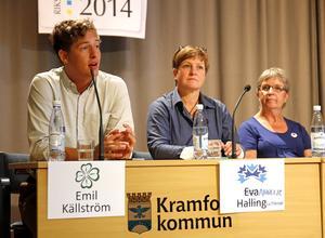 Emil Källström (C) var en av få västernorrländska toppkandidater som bedrev en seriös personvalskampanj.