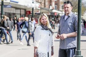 Anna Idell och Nicklas Johansson får utmärkelser som Årets söderhamnare respektive Årets eldsjäl.