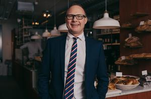 Livsmedelsföretagens vd Björn Hellman. Foto: Livsmedelsföretagen