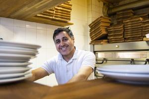 Amer Kiki tog över Alfta restaurang och pizzeria för två år sedan.