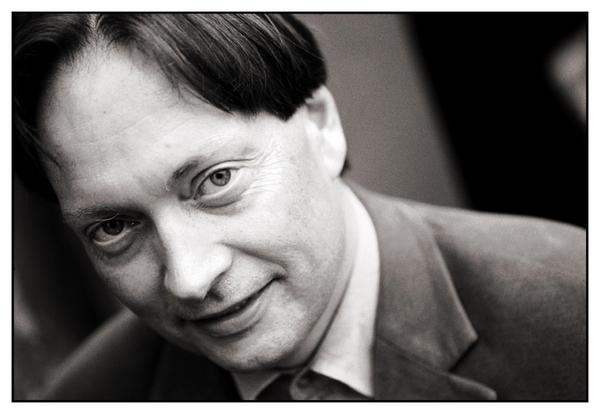 Horace Engdahl 2001. Foto: Fredrik Persson/ PRESSENS BILD