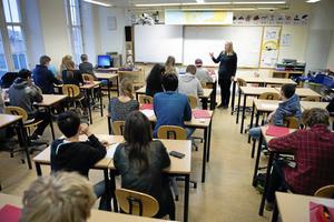 Skövde och Falköping saknar dessutom tydliga politiska målsättningar för arbetet med studie- och yrkesvägledningen. Bilden är en genrebild.
