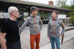 Per Berglund, Per Fredin och Thomas Eriksson.