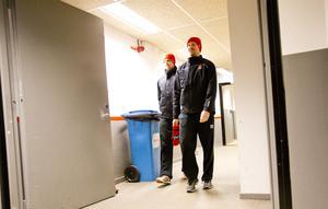 Kalle Olsson och Marcus Weinstock. Bild: Johan Bernström/Bildbyrån