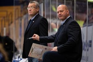 Leksandstränaren Ulf Hedberg berättar om beslutet bakom det täta matchschemat. Foto: Daniel Eriksson/Bildbyrån.
