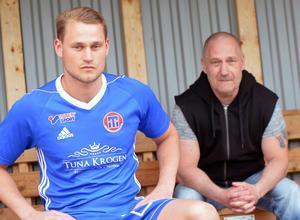Christoffer går i pappa Per Lindgrens fotspår i IF Tunabro.