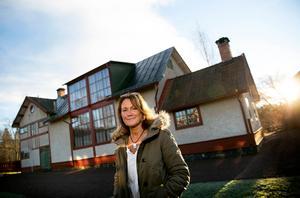Chia Jonsson, verksamhetschef vid Carl Larsson-gården i Sundborn.