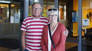 Kalervo och Karin Laitalainen, Örnsköldsvik, är besvikna över att Ikea i Birsta inte längre serverar frukostbuffén under vardagarna.