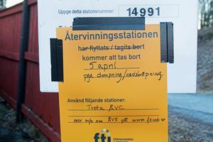 Det är FTI (Förpacknings- och tidningsinsamlingen) som sköter återvinningsstationenerna i Södertälje.
