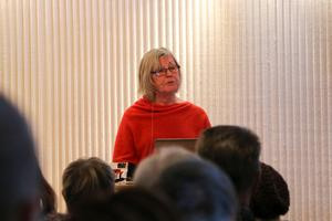 Eva Ljungdahl är arkeolog och arbetar till vardags på Östersunds sydsamiska kulturcentrum Gaaltije.