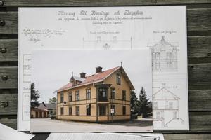 Över 1200 ritningar har sparats från Olof Engbergs tid som byggmästare och arkitekt.