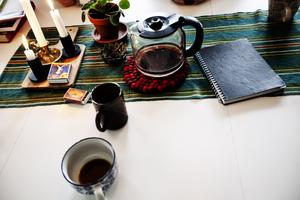 Inget kollektiv utan kaffe.