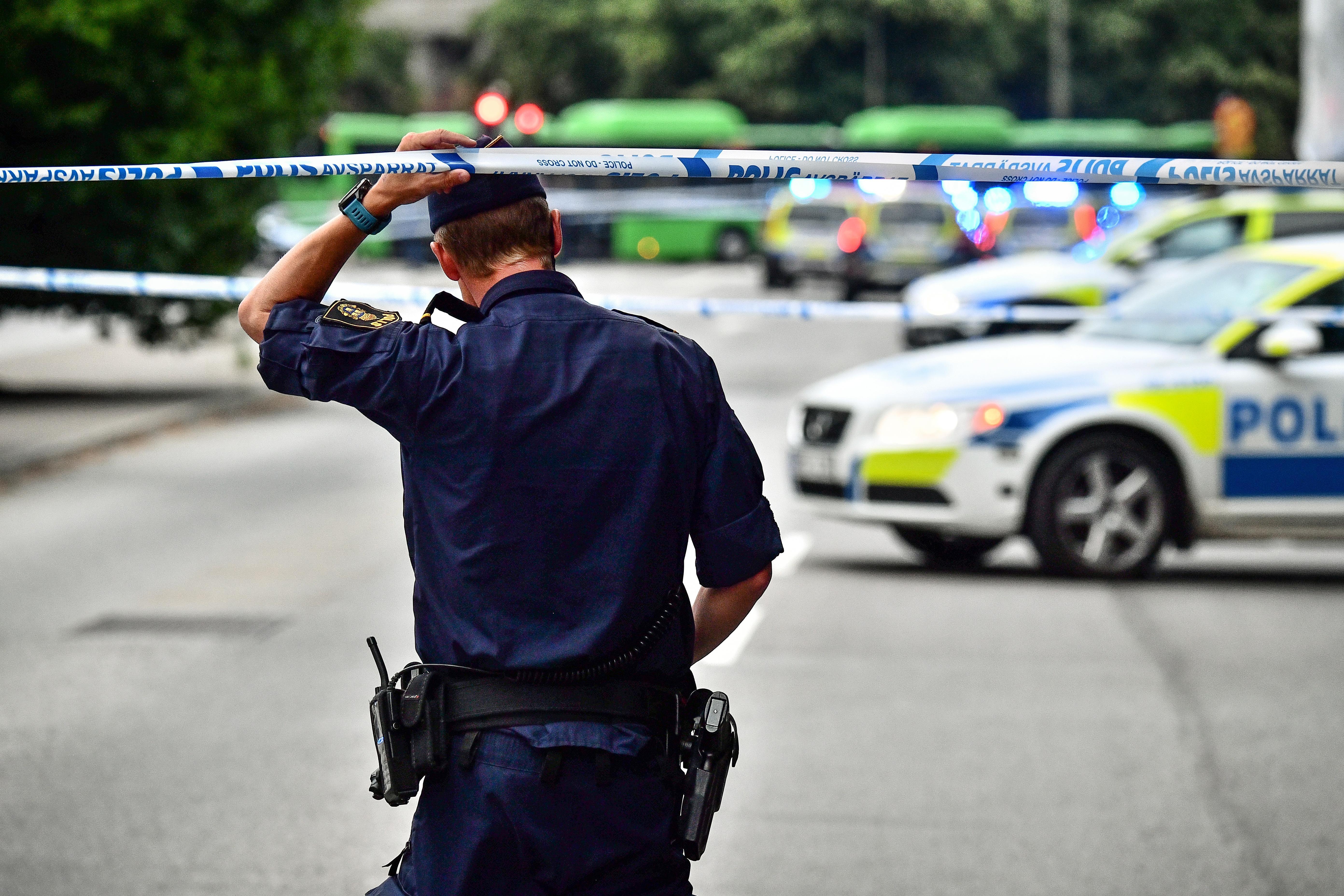 Fyra skottskadade i landskrona