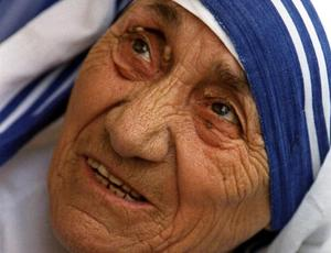Moder Teresa.Bild: AP