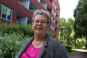 Lena Johnsson, vice ordförande i LO-distriktet i Dalarna och Gävleborg.