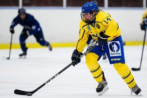 Ella Albinsson är en av två LIF-forwards i U18-VM. Foto: Andreas L Eriksson/Bildbyrån.