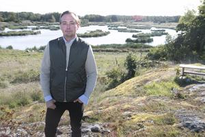För två år sedan fick Marcus FRiström hjälp från länsstyrelsen och Jordbruksverket för att återställa träsket i Arbottna till våtmark.