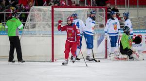 Andrej Prokopiev satte 5–1 för Ryssland – där och då var Finland ett slaget lag.