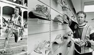 Jörgen Wiklander var en gång en av Sveriges mest talangfulla medeldistanslöpare. Sedan blev han framgångsrik uppfinnare och affärsman. År 1984 öppnade han sportbutiken Löplabbet på söder i Stockholm. Bild: Arkiv