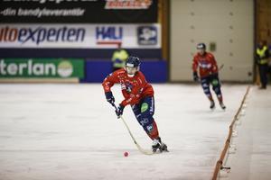 Daniel Burvall Jonsson under tisdagens match mot Sandviken.