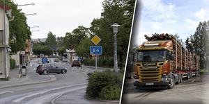 Numera är riksväg 84 genom köpingen, en så kallad BK4-väg, vilket innebär att tyngre lastbilsekipage får köra genom centrala Ljusdal.