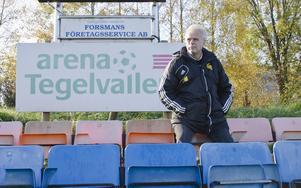 Tony Mattsson är tillbaka som Hebytränare. Foto: Niklas Norén/Arkiv