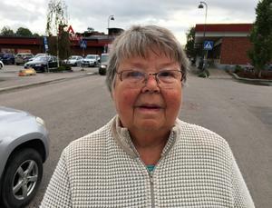 Kerstin Wiklund, 80 år, pensionär, Matfors: