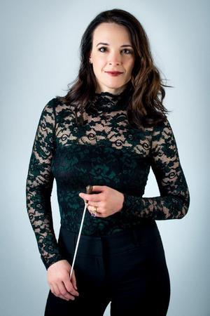Dirigent är Marie Rosenmir. Foto: Elias Gammelgård