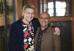 Lars Lerin och Manoel