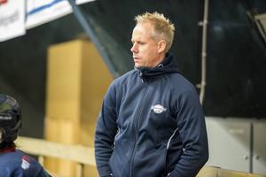 Örnsköldsvik Hockeys huvudtränare Thomas Högström.