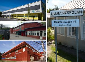 De föreslagna besparingarna på utbildningsområdet i Nykvarn påverkar bland andra kommunens fyra grundskolor Furuborg, Björkesta, Turinge och Lillhaga.