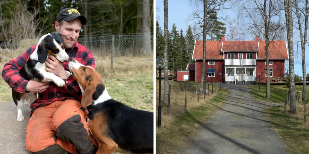 TV: Följ med hem till David i Bonde söker fru – så bor och lever han på anrika släktgården