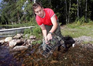 Ronnie Hermansson, styrelseledamot i fiskevattenägarna Dalarna-Gävleborg.