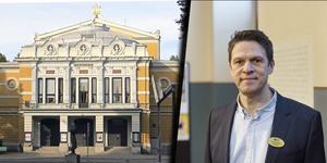 Gävle Teaters intendent Jonas Elverstig. BILD: Kristian Ekenberg/Markus Boberg