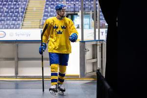Philip Broberg dominerade isen: Foto: Bildbyrån.