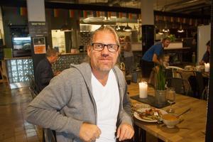 Pelle Sundström är allätare men gillar att äta nyttigt och hälsosamt.