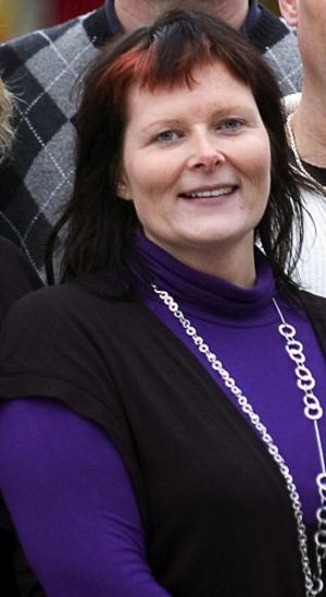 Cecilia Malm, gruppledare, Rädda Barnen i Borlänge.