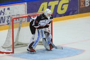 Andreas Bosson vaktade HHC-kassen mot Östersund.