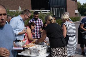 Social verksamhet är en viktig del av pingströrelsens andliga liv. Foto: Sandra Lagestrå