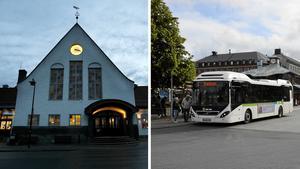 Järnvägsstationen och Navet är två exempel på platser där man ska kunna känna sig trygg och välkommen – så är det inte i dag, menar skribenten. Bilder: Arkiv