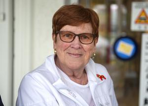 Monika Ruda, 76 år, pensionär, Sundsvall