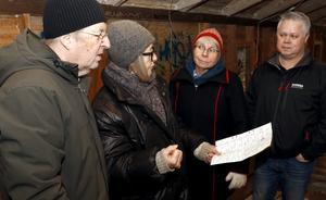 Siv Kalmö berättade om kägelspel i allmänhet och kägelbanan i Lindesberg i synnerhet.