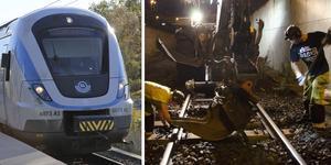 Trafikverkets banarbete på Nynäsbanan gör att inga tåg kommer att åka till och från Nynäshamn under påskhelgen.