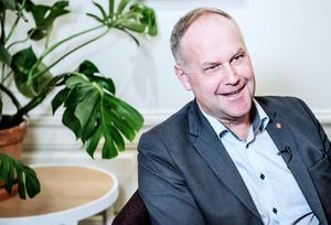 Jonas Sjöstedt, partiledare för Vänsterpartiet. Foto: Tomas Oneborg/TT