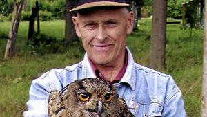 Nils Pers gjorde en stor insats för att rädda Dalarnas landskapsfågel berguven.