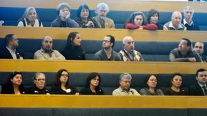 Åhörarläktaren var välfylld den 11 mars 2010 när riksdagen debatterade erkännandet av folkmordet på armenier assyrier/syrianer, kaldéer och pontiska greker som inleddes 1915. Foto: Bertil Ericson/TT