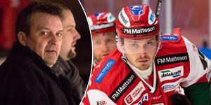 Peter Hermodsson berättar om uppbrottet med Jesper Ylivainio. Foto: Lars Dafgård/Daniel Eriksson (Bildbyrån).
