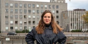 Matilda Molander, VLT:s politiska redaktör står i centrum för den lokala debatten.
